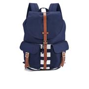 Herschel Men's Dawson Peacoat Offset Backpack - Navy/White