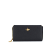 Vivienne Westwood Women's Zip Around Purse - Black