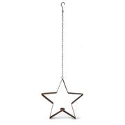 Bark & Blossom Hanging Star Candle Holder
