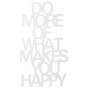 Bark & Blossom What Makes You Happy Plaque