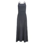 Superdry Women's Slinky Print Maxi Dress - Navy Ikat Dot