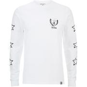 Carhartt X Moodymann Men's Long Sleeve MMC Set U Free T-Shirt - White