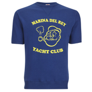 TSPTR Men's Yacht Club Short Sleeve Sweatshirt - Royal