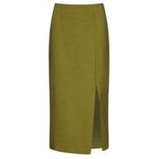 C/MEO COLLECTIVE Women's Perfect Lie Pencil Skirt - Khaki