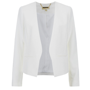 MICHAEL MICHAEL KORS Women's Minimal Besom Jacket - White