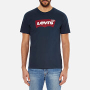 Levi's Men's Tab Graphic Set-In Neck T-Shirt - Dress Blues