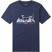Le Coq Sportif Tour de France N2 T-Shirt - Blue