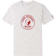 Le Coq Sportif Paris Roubaix T-Shirt - White
