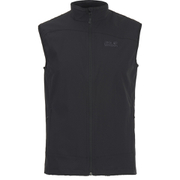 Jack Wolfskin Men's Activate Softshell Vest - Black
