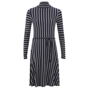 Designers Remix Women's Carrie Dress - Navy/White