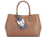 Karl Lagerfeld Women's Small K/Shopper Saffiano Bag - Tan