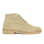 A.P.C. Men's Gaspard Suede Boots - Beige