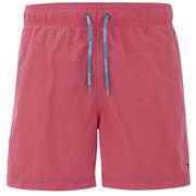 Tommy Hilfiger Men's Solid Swim Shorts - Claret Red