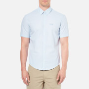 BOSS Green Men's C-Busterino Short Sleeved Shirt - Sky
