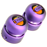 X-Mini Max Capsule Speaker Pair - Purple