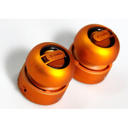 X-Mini Max Capsule Speaker Pair - Orange