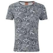Scotch & Soda Men's Floral Print T-Shirt - Multi