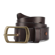 Scotch & Soda Men's Leather Belt - Brown