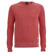 Scotch & Soda Men's Garment Dyed Sweatshirt - Blazing Red