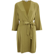 Ganni Women's Gracia Kimono Dress - Plantation