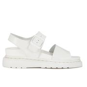 Dr. Martens Women's Shore Romi Petrol Leather Y Strap Sandals - White