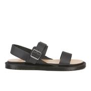 Dr. Martens Men's Halton Kennet 3 Strap Sandals - Black