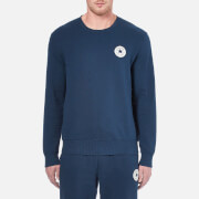 Converse Men's Crew Neck Sweatshirt - Nighttime Navy