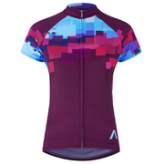 Primal Mache Women's Short Sleeve Jersey - Purple