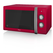 Swan SM22070RN Manual Microwave - Red - 900W