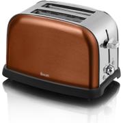 Swan ST16020COPN 2 Slice Metallic Toaster - Copper
