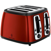 Russell Hobbs 19160 4 Slice Toaster - Red