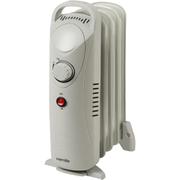 Warmlite WL43002Y Oil Filled Radiator - White - 650W