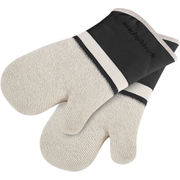 Morphy Richards 973522 Set of 2 Oven Mits - Black