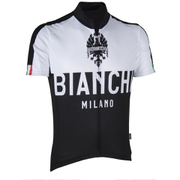 Bianchi Men's Nalon Short Sleeve Jersey - Black/White