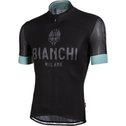 Bianchi Men's Zezere Short Sleeve Jersey - Black/Green