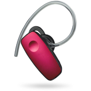 Kit Wireless Bluetooth Headset with Microphone for Smartphones - Red