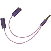 KitSound Headphone Splitter - Purple