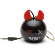KitSound Mini Buddy Devil Bomb Portable Speaker - Black