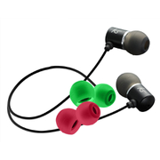 KitSound Ace Earphones With In-Line Mic (Inc Extra Colour Buds)