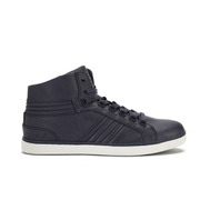 Crosshatch Men's Ecuador High Top Trainers - Navy