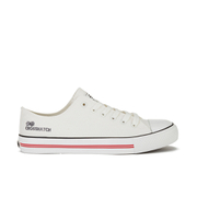 Crosshatch Men's New Halfpipe Canvas Trainers - White