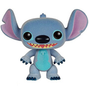 Disney Lilo and Stitch Stitch Flocked Pop! Vinyl Figure