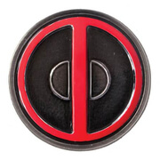 Marvel Deadpool Coloured Pewter Lapel Pin