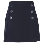 Sonia by Sonia Rykiel Women's Jersey Pleat Skirt - Navy