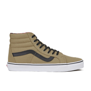 Vans Men's Sk8-Hi Reissue Twill/Gingham Trainers - Cornstalk/Black