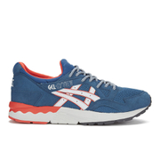 Asics Men's Gel-Lyte V 'Summer Blues' Trainers - Legion Blue/Soft Grey