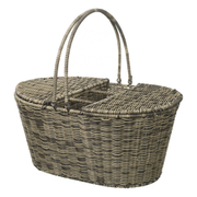 Parlane Rattan Picnic Basket - Brown