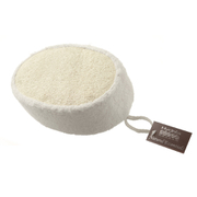 Hydrea London Bamboo & Loofah Exfoliating Sponge