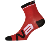Nalini Logo Socks 13cm - Red