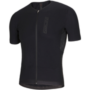 Nalini N1 Ti Short Sleeve Jersey - Black/Red - Large